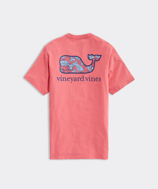 Fishing Whale Short-Sleeve Pocket Tee