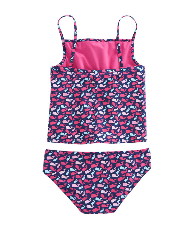 Girls Scattered Whale Tankini