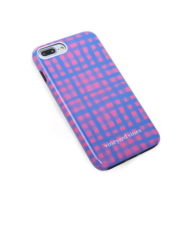 Painted Gingham iPhone 7 / 8+ Case