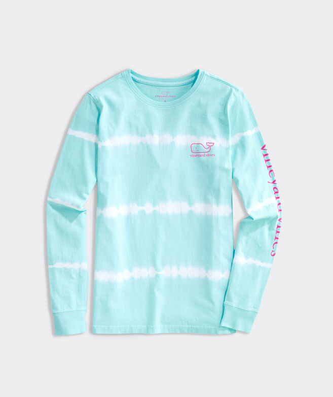 Tie-Dyed Whale Long-Sleeve Tee