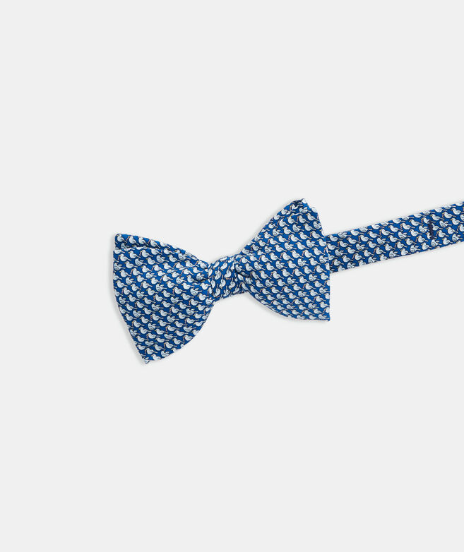 Early Bird Gets The Worm Printed Bow Tie
