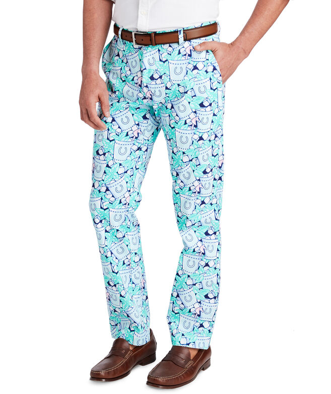 Iced Mint Julep Breaker Pants