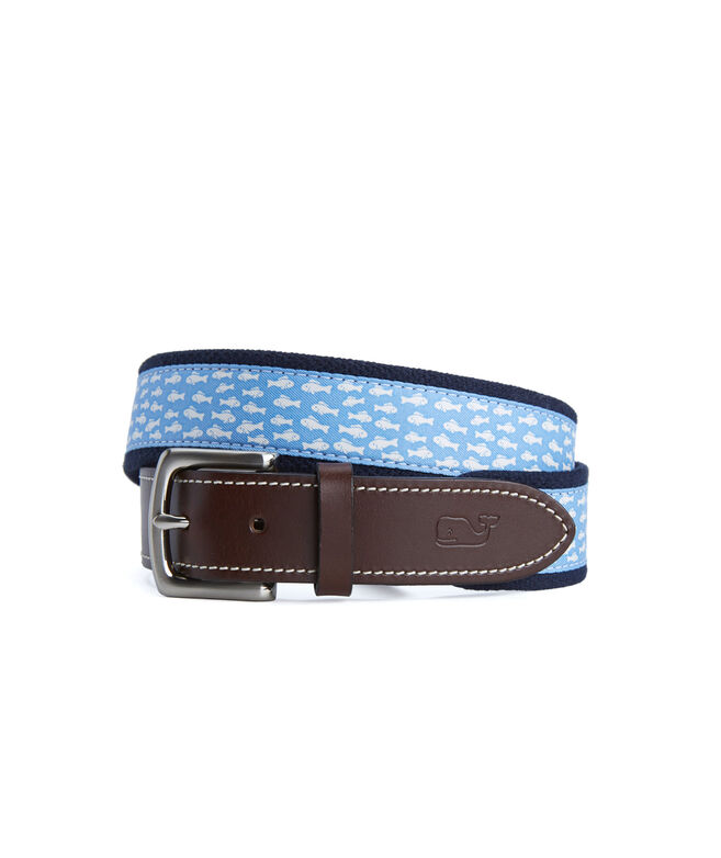 Go Fish Canvas Club Belt