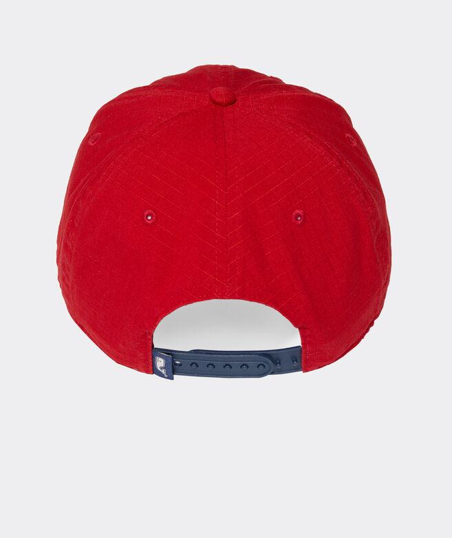Script Logo Patch Ripstop Baseball Hat
