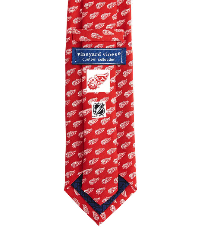 Detroit Red Wings Logo Tie