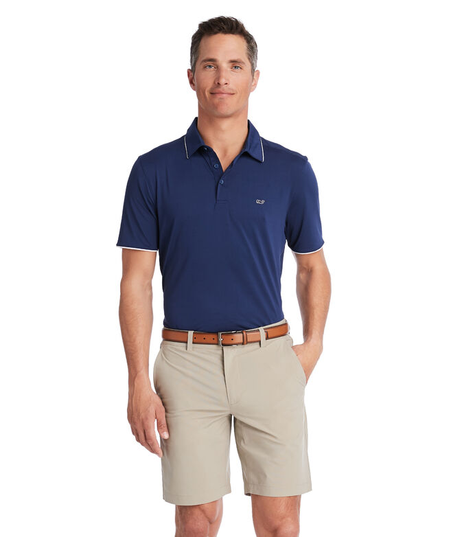 Tennis Sankaty Performance Polo
