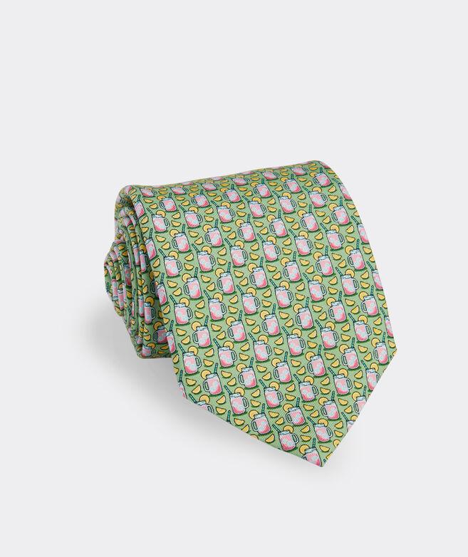 Pink Lemonade Printed Tie