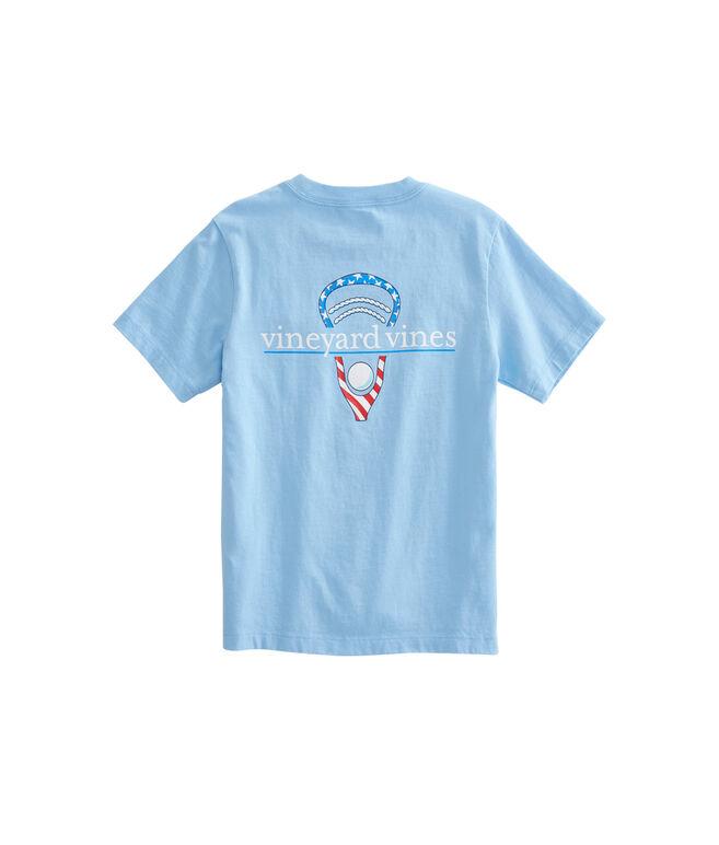 Boys Stars & Stripes Lax Head T-Shirt