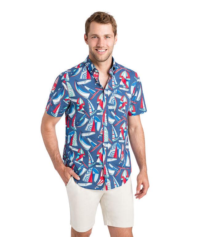 Short-Sleeve Spin Around The Island Classic Murray Shirt
