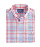 Mainsheet Plaid Slim Crosby Shirt