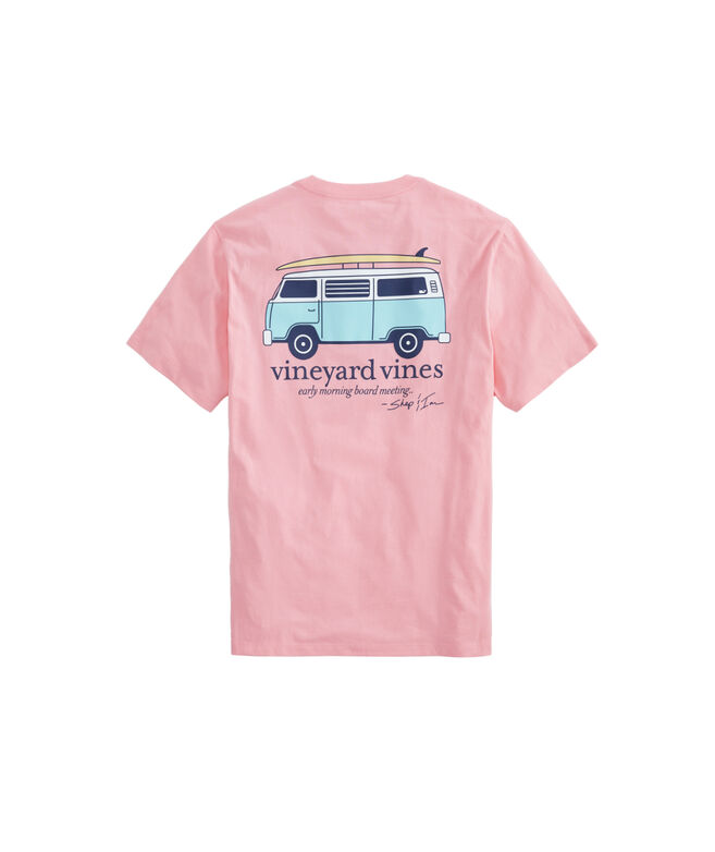 Bus & Board Pocket T-Shirt
