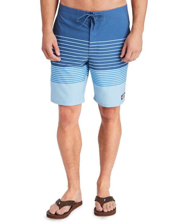 Salt Marsh Striped Board Shorts
