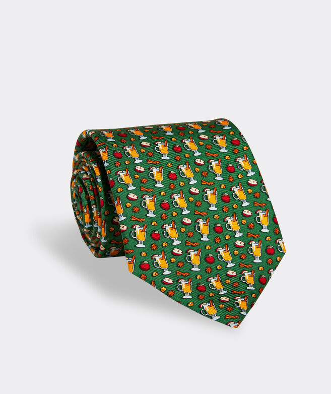 Apple Cider Printed Tie