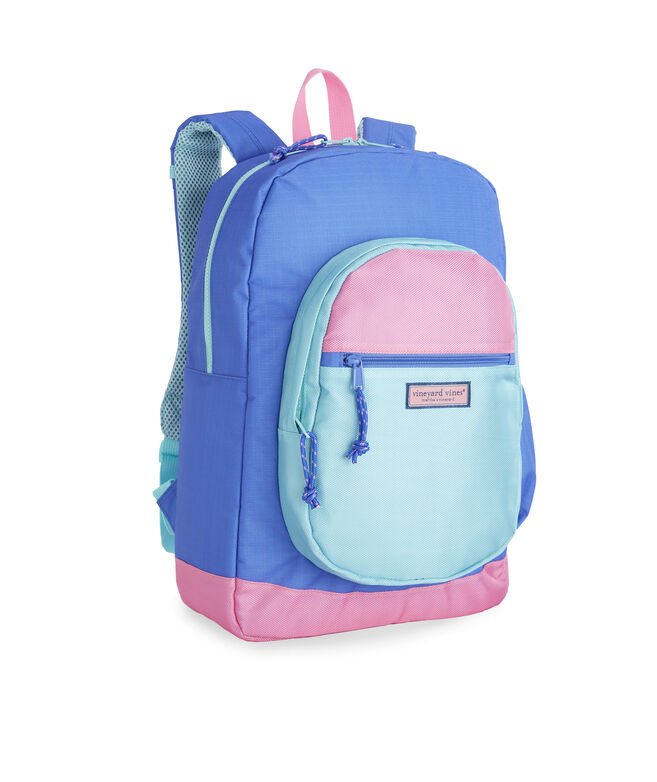 Girls Colorblock Backpack
