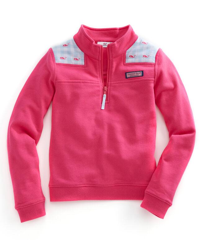 Girls Flannel Gingham Shep Shirt