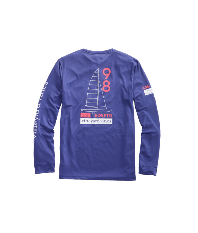 Long-Sleeve Catamaran Performance T-Shirt