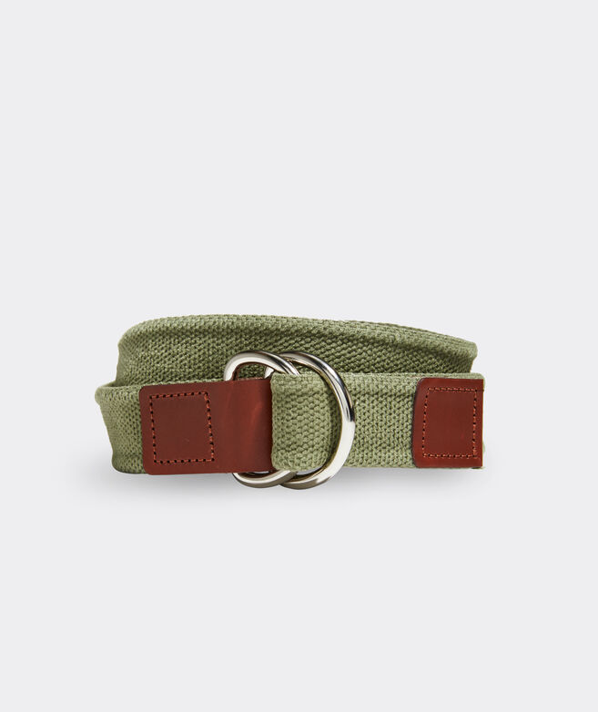 Boys' Washed Canvas D-Ring