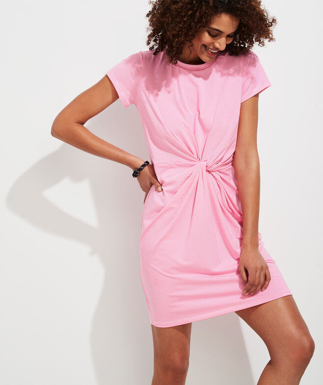 Side Twist Sankaty Dress