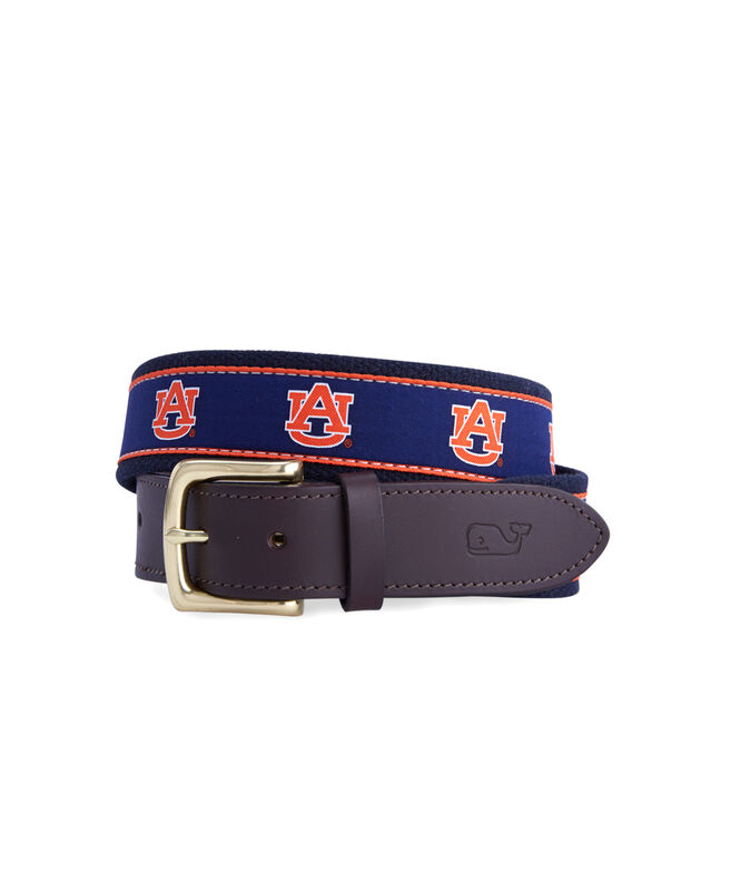 Auburn University Canvas Club Belt