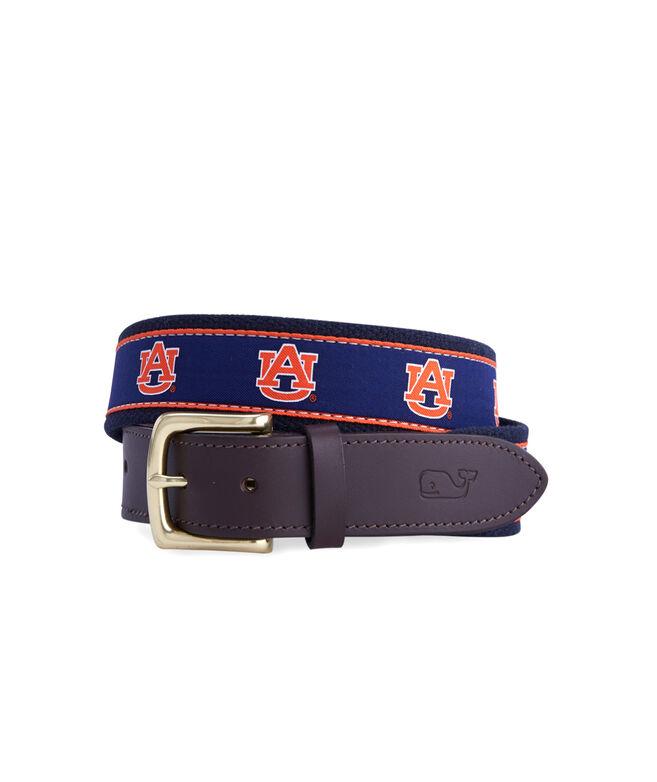 Auburn University Canvas Club Belt