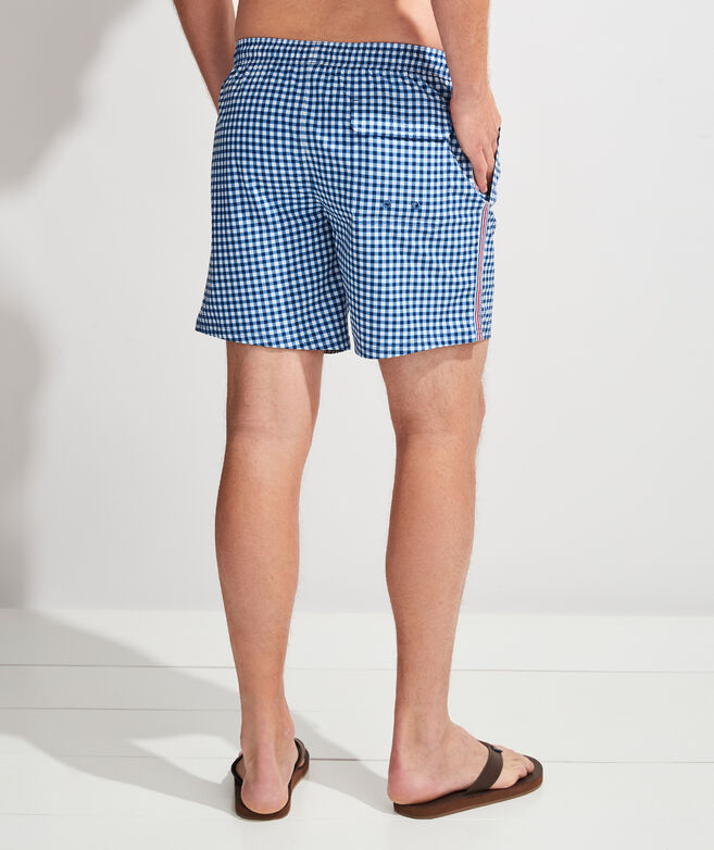 Gingham Chappy Trunks