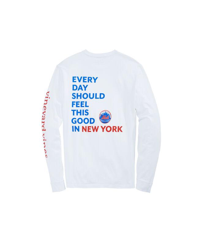 New York Mets Long-Sleeve EDSFTG T-Shirt