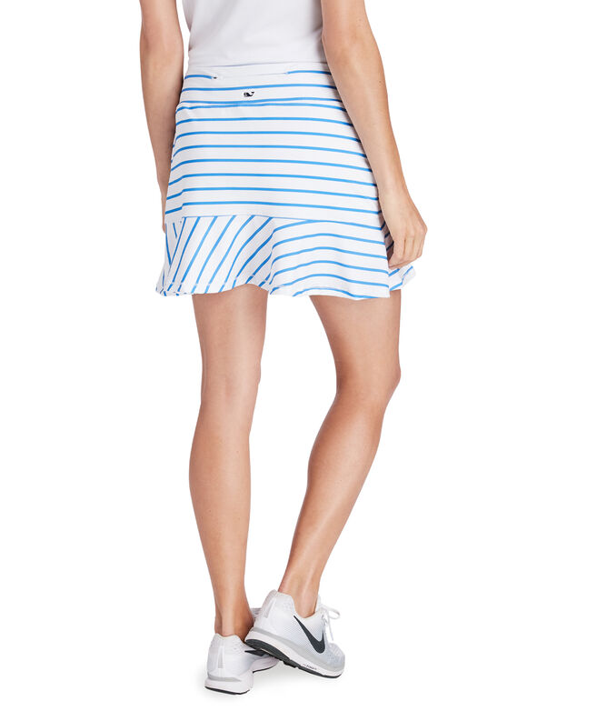 15 Inch Break Stripe Skort