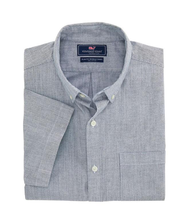 Slim Fit Full Moon Murray Short-Sleeve Button-Down Shirt