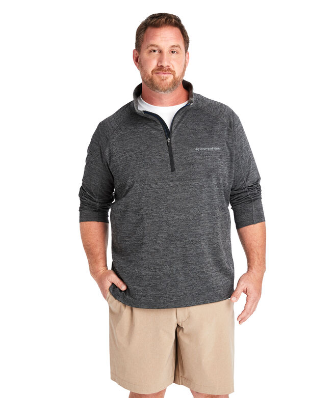 Big & Tall Sankaty 1/2-Zip Pullover