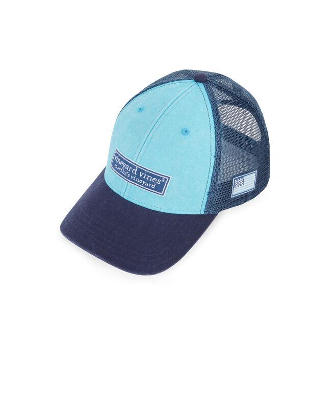 Low Profile Tonal Classic Logo Trucker Hat