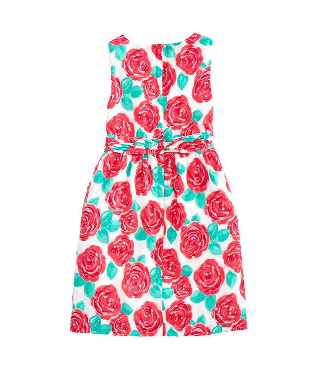 Girls Run For Roses Fit & Flare Dress