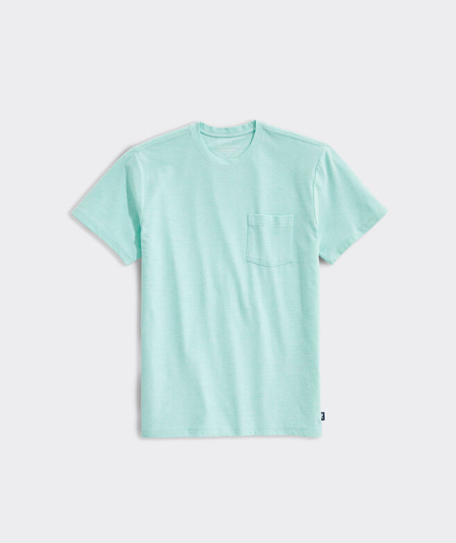 Edgartown Seawall Short-Sleeve Pocket Tee
