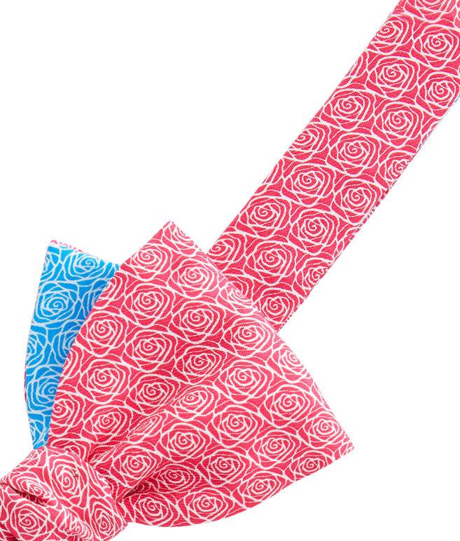 Rose Geo 2-Panel Bow Tie