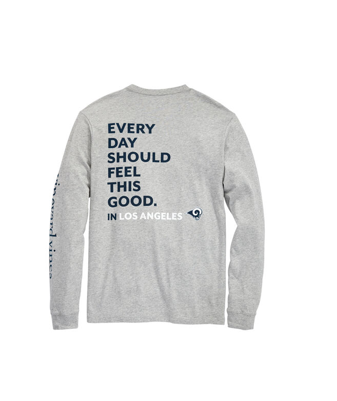 Los Angeles Rams Long-Sleeve EDSFTG T-Shirt