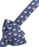 Santa Whale Bow Tie