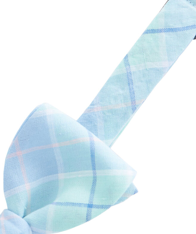 Ocean Bay Plaid Shirting Bow Tie