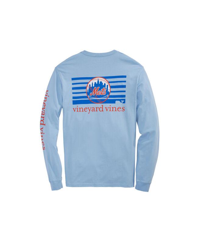 New York Mets Skyline Logo T-Shirts