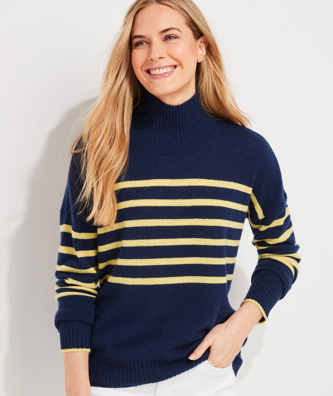Cashmere Mockneck Sweater