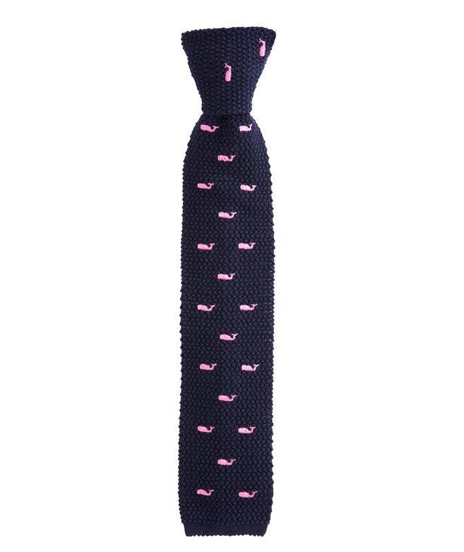 Whale Knit Tie