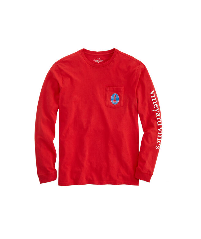 Red, Right, Return Long-Sleeve Pocket T-Shirt