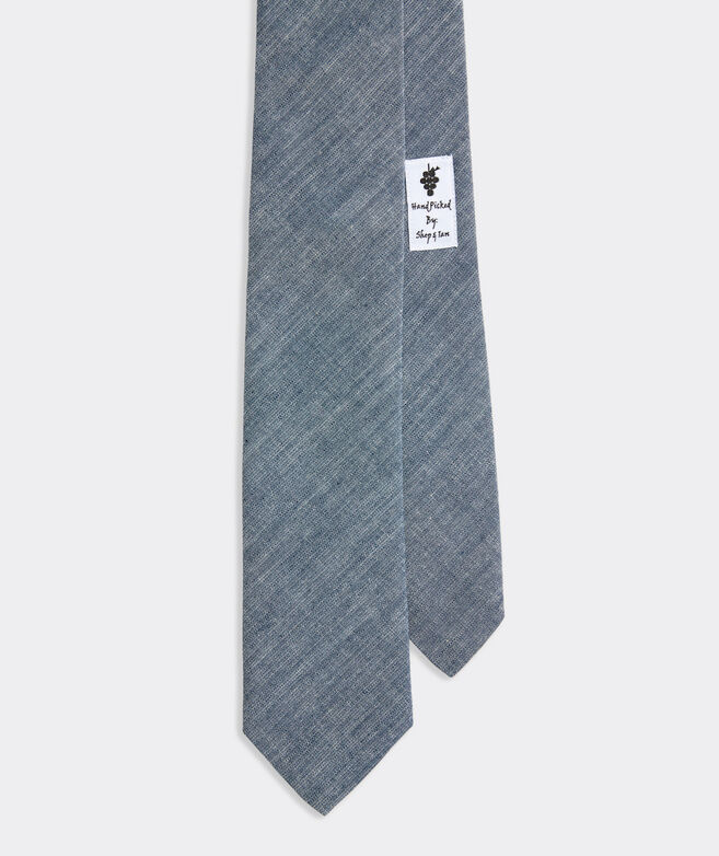 Chambray Kennedy Tie