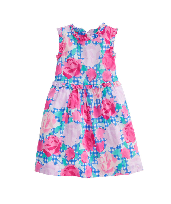 Girls Run For The Roses Dress
