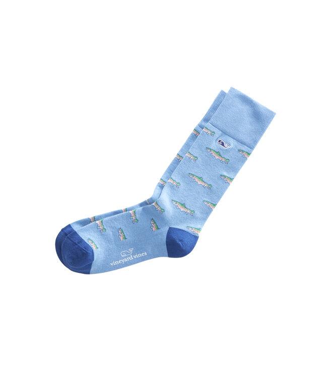 Trout Icon Socks