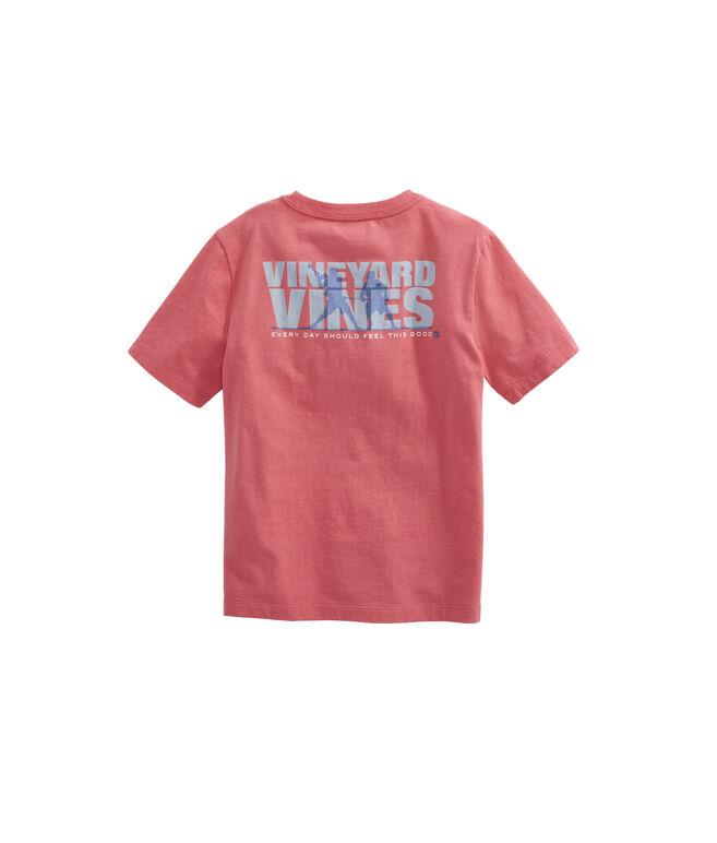 Boys Knockout Lacrosse Pocket T-Shirt