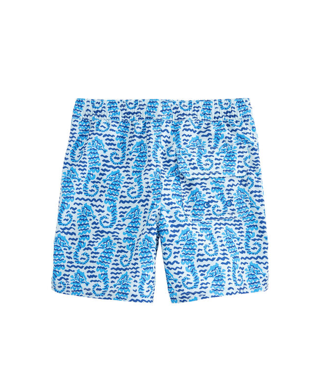 Boys Seahorse Waves Chappy Trunks