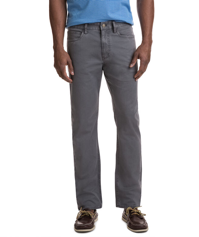 Stretch Twill 5 Pocket Pants