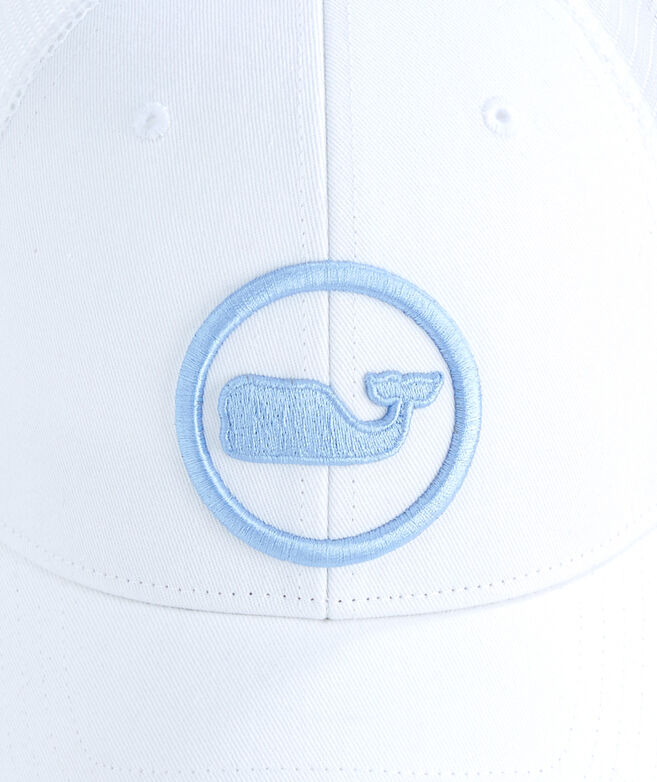Shop Womens Whale Dot Trucker Hat at vineyard vines 95a16900ea94