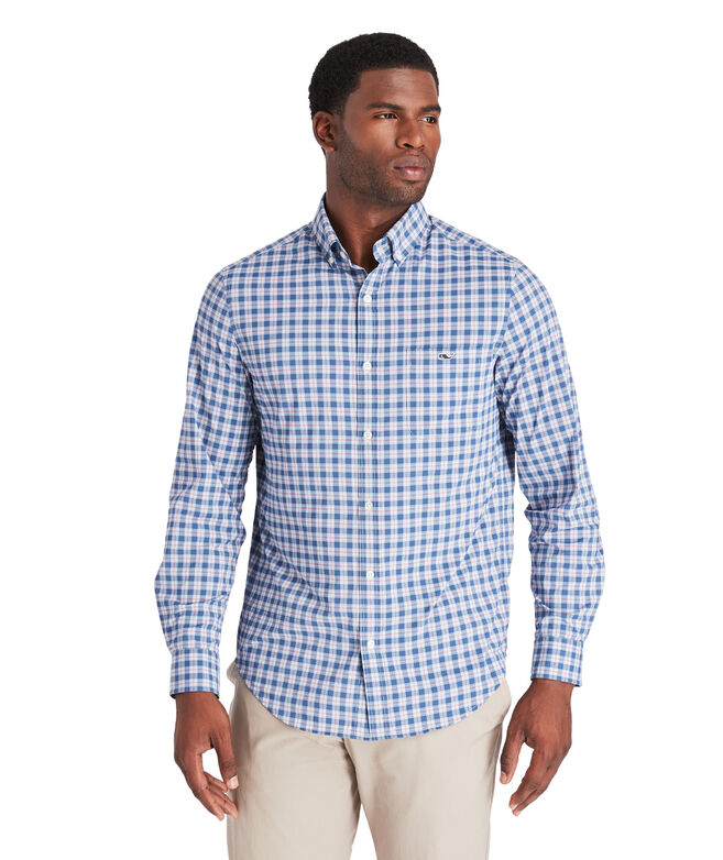 Classic Brookings On-The-Go Performance Tucker Shirt