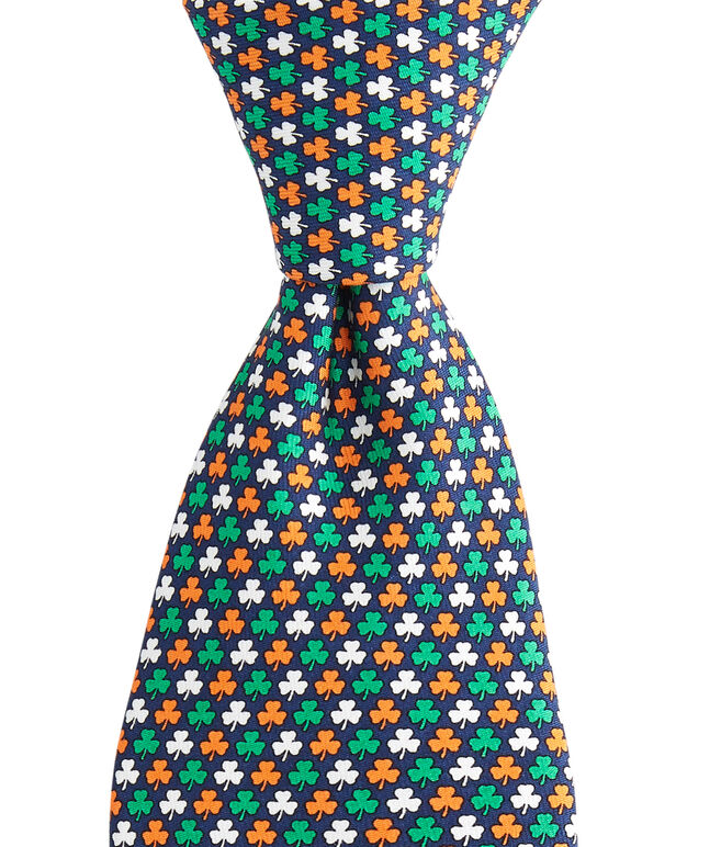 Boys New St. Paddy's Pot O Gold Printed Tie