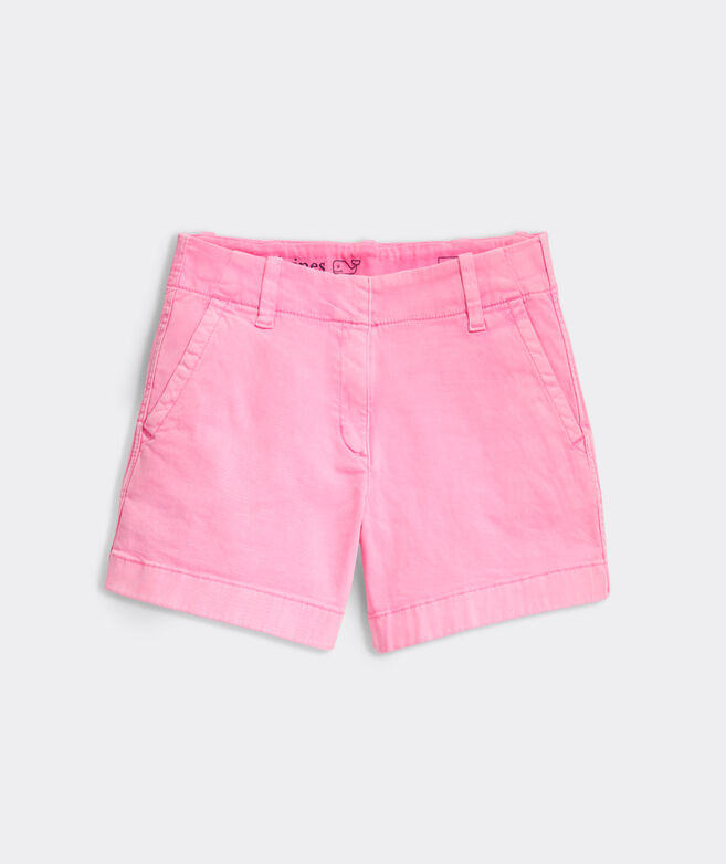 Girls Garment Dye Every Day Shorts